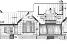 House Plan Design - Classical Exterior - Rear Elevation Plan #453-332