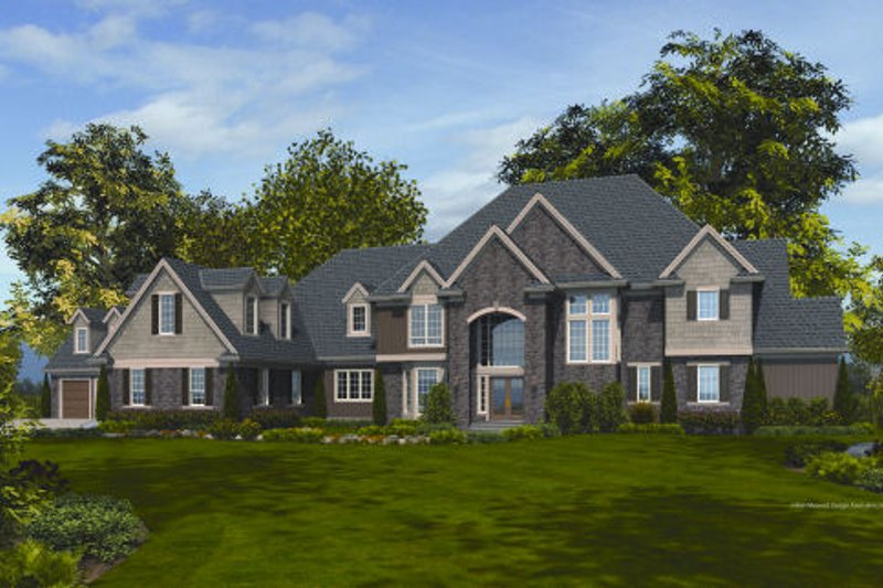 Dream House Plan - European Exterior - Front Elevation Plan #48-257