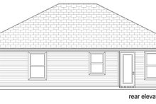 Craftsman Exterior - Rear Elevation Plan #84-575