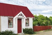 Cottage Style House Plan - 1 Beds 1 Baths 98 Sq/Ft Plan #896-1 Exterior - Front Elevation