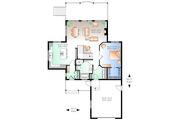 Cottage Style House Plan - 3 Beds 2 Baths 2304 Sq/Ft Plan #23-2318 Floor Plan - Main Floor