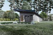Contemporary Style House Plan - 3 Beds 2 Baths 1365 Sq/Ft Plan #923-194