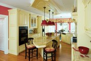 Farmhouse Style House Plan - 4 Beds 3.5 Baths 3163 Sq/Ft Plan #929-16 Interior - Kitchen