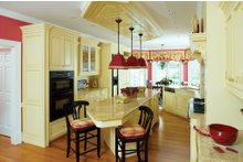 Farmhouse Interior - Kitchen Plan #929-16