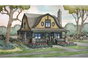 Colonial Style House Plan - 4 Beds 3 Baths 2685 Sq/Ft Plan #928-241 Exterior - Front Elevation