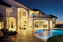 Dream House Plan - Mediterranean Exterior - Rear Elevation Plan #930-442