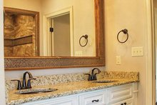 European Interior - Master Bathroom Plan #17-3366