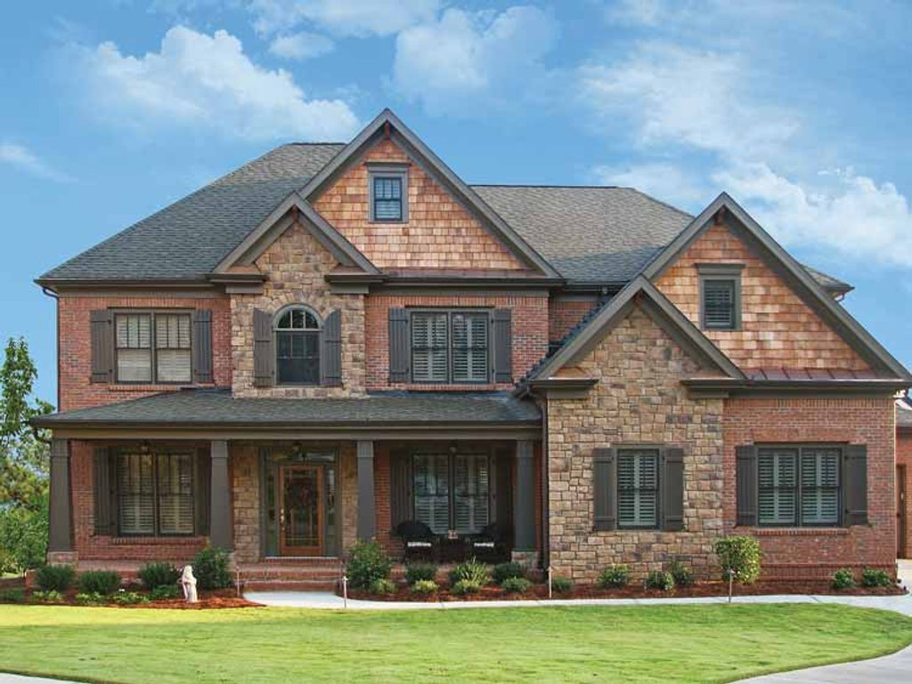 Craftsman style house plan 5 beds 4 baths 3195 sq ft for Www eplans com