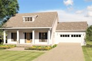 Craftsman Style House Plan - 3 Beds 2 Baths 1908 Sq/Ft Plan #44-235