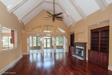 Traditional Interior - Family Room Plan #929-874
