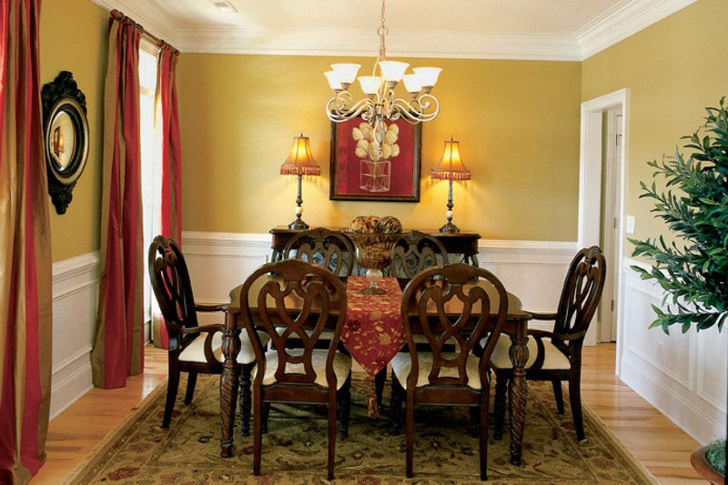 Traditional Interior - Dining Room Plan #927-529 - Houseplans.com