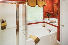 Classical Interior - Master Bathroom Plan #929-679