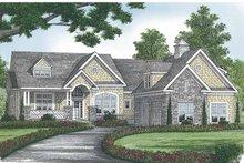 House Plan Design - Craftsman Exterior - Front Elevation Plan #453-566