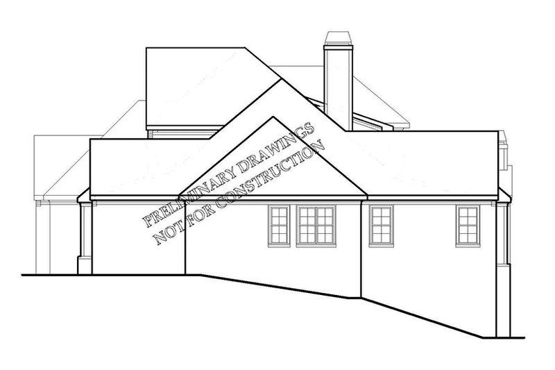 European Exterior - Other Elevation Plan #927-426 - Houseplans.com
