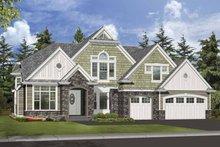 Dream House Plan - Craftsman Exterior - Front Elevation Plan #132-501