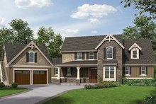 Home Plan - Craftsman Exterior - Front Elevation Plan #48-923