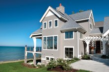 Dream House Plan - Traditional Exterior - Front Elevation Plan #928-11