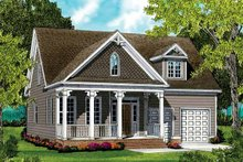 Home Plan - Country Exterior - Front Elevation Plan #413-896