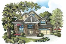 Craftsman Exterior - Front Elevation Plan #929-846