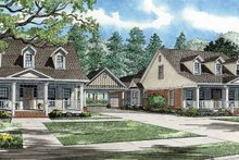 Architectural House Design - Country Exterior - Front Elevation Plan #17-2821