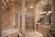 Mediterranean Interior - Bathroom Plan #417-557