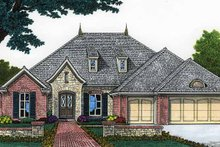 Architectural House Design - Classical Exterior - Front Elevation Plan #310-1204