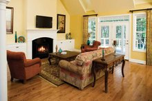 Country Interior - Family Room Plan #929-425