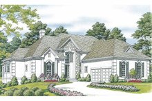 House Plan Design - Traditional Exterior - Front Elevation Plan #453-550