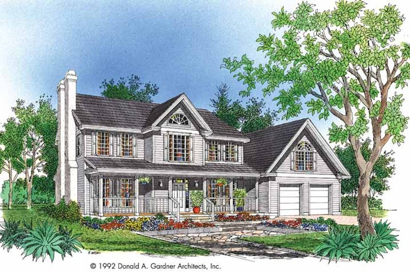 Victorian Exterior - Front Elevation Plan #929-545 - Houseplans.com