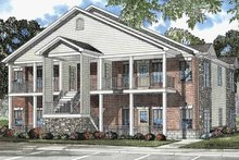 House Plan Design - Classical Exterior - Front Elevation Plan #17-3141
