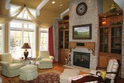 European Style House Plan - 2 Beds 2.5 Baths 2699 Sq/Ft Plan #928-190 Interior - Family Room