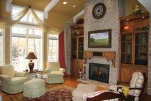 Architectural House Design - European Interior - Family Room Plan #928-190