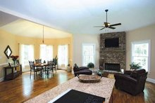 Traditional Interior - Family Room Plan #56-541
