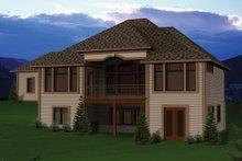 Ranch Exterior - Rear Elevation Plan #70-1067