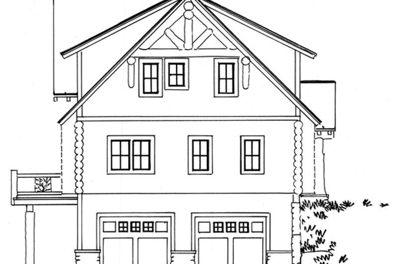 Log Exterior - Other Elevation Plan #942-23 - Houseplans.com