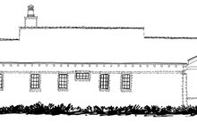 Craftsman Exterior - Rear Elevation Plan #942-19