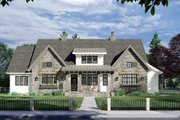 Farmhouse Style House Plan - 4 Beds 3.5 Baths 2655 Sq/Ft Plan #51-1163 Exterior - Front Elevation
