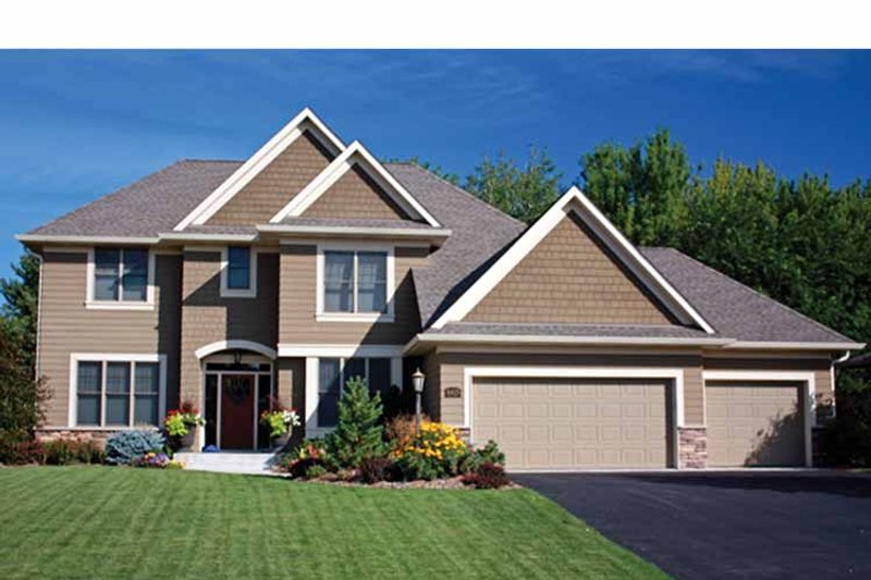 Country Exterior - Front Elevation Plan #51-1088