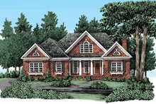 Dream House Plan - Traditional Exterior - Front Elevation Plan #927-328
