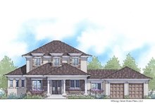 Home Plan - Traditional Exterior - Front Elevation Plan #938-85