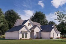 Dream House Plan - Traditional Exterior - Other Elevation Plan #923-176
