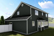 House Plan Design - Traditional Exterior - Rear Elevation Plan #1060-4