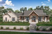 Farmhouse Style House Plan - 3 Beds 2.5 Baths 2454 Sq/Ft Plan #430-229 Exterior - Front Elevation
