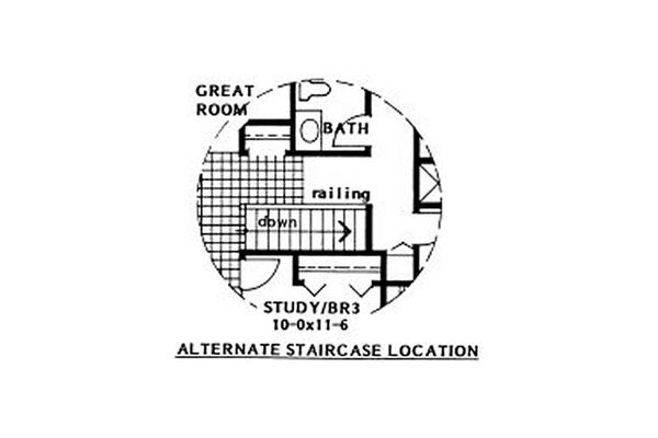 Dream House Plan - Ranch Floor Plan - Other Floor Plan #126-186