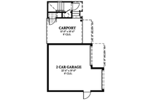 Home Plan - Country Exterior - Other Elevation Plan #1058-149