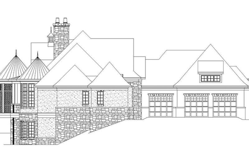 European Exterior - Other Elevation Plan #929-929 - Houseplans.com