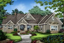 House Plan Design - Ranch Exterior - Front Elevation Plan #929-1005
