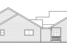 Dream House Plan - Traditional Exterior - Other Elevation Plan #124-857