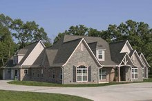 Contemporary Exterior - Front Elevation Plan #11-278