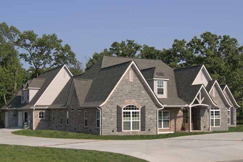 House Plan Design - Contemporary Exterior - Front Elevation Plan #11-278